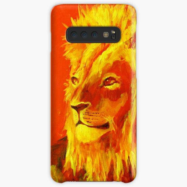Krafttierbild Löwe - Totem Animal Lion Samsung Galaxy Leichte Hülle