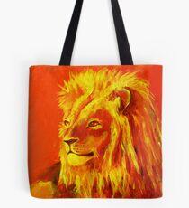 Krafttierbild Löwe - Totem Animal Lion Tasche