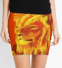 Krafttierbild Löwe - Totem Animal Lion Minirock