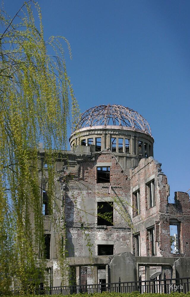Hiroshima dome life by Kyra  Webb