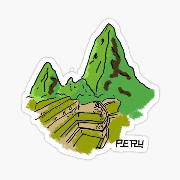 Perú Pegatina