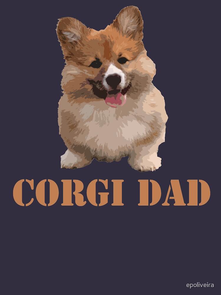 Corgi Dog Dad by epoliveira