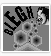 Blegh! Sticker