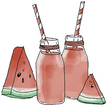 Watermelon Smoothie by KxtPicture
