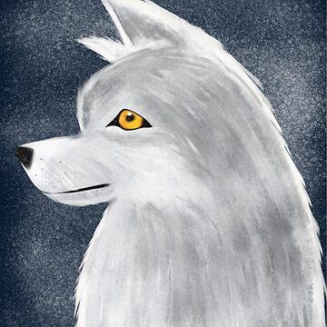 White Wolf by Knai-Locus