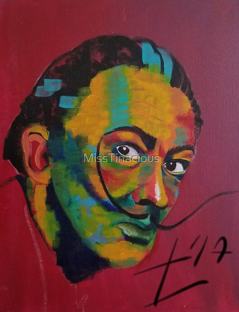 Dali in pixels by MissTinacious