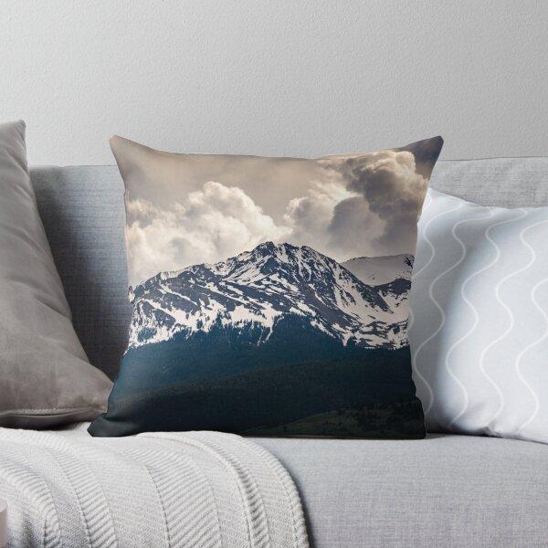 Gallatin Range Throw Pillow