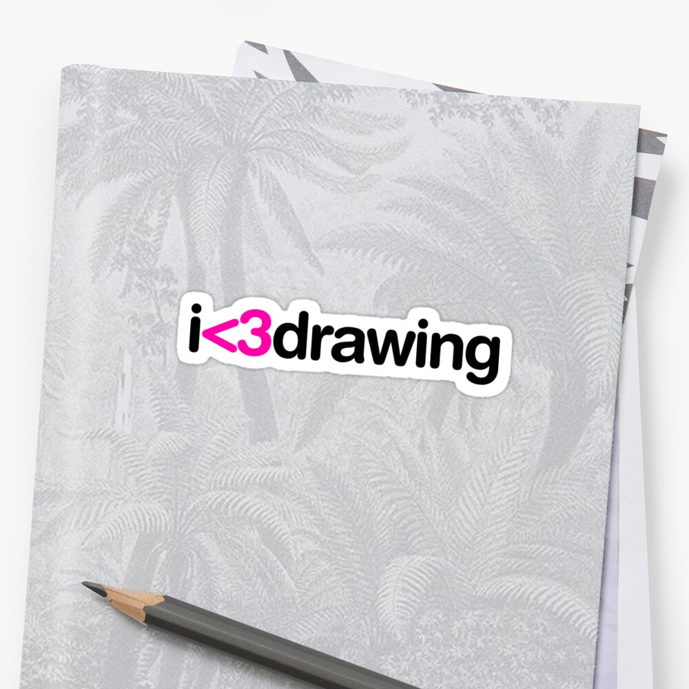 I heart drawing by arch0wl