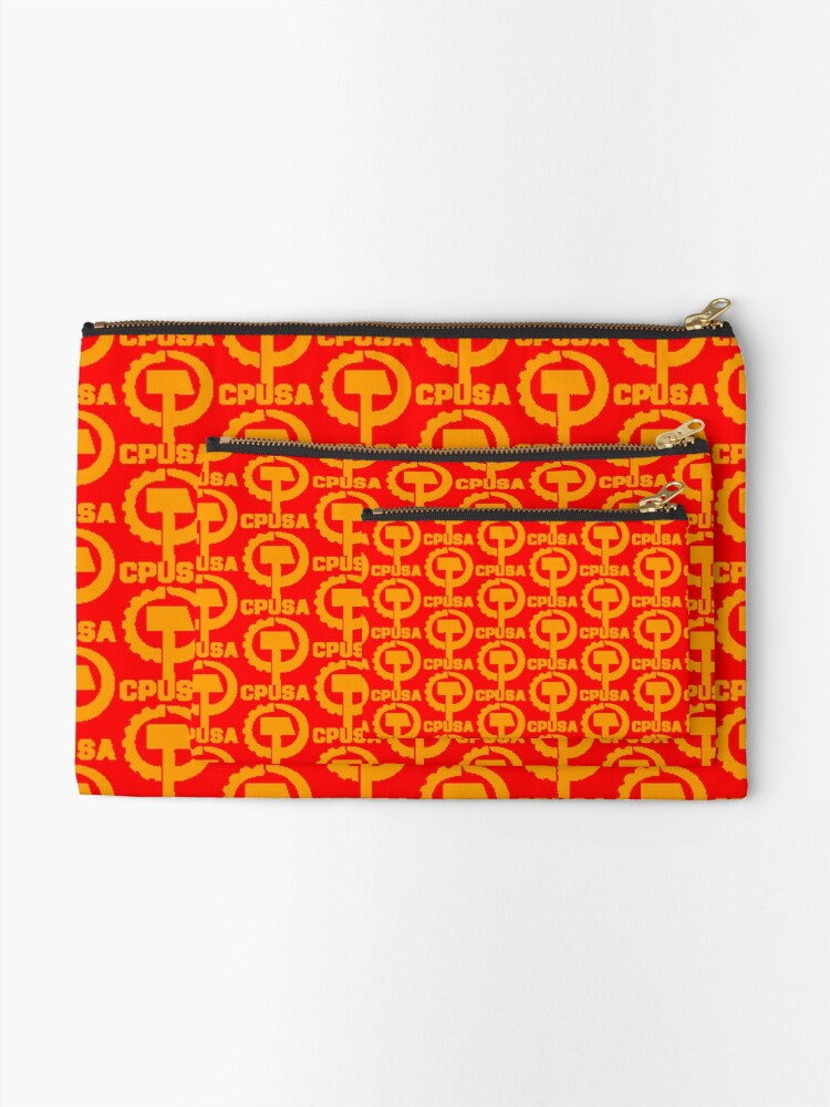 Alternate view of CPUSA (The Communist Party USA) Zipper Pouch