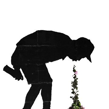 Banksy: Flowers by Blueasaurs