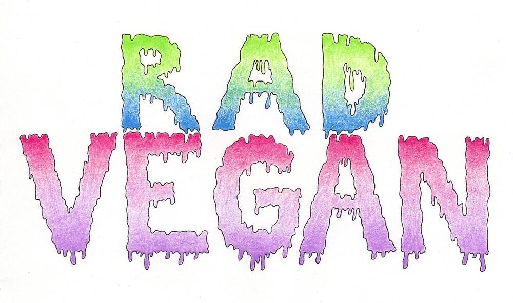 Rad Vegan by sperchey
