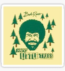 "Bob Ross ""Happy Little Trees"" Sticker"