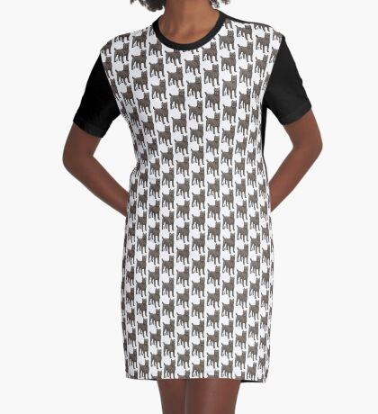 Cane Corso Graphic T-Shirt Dress