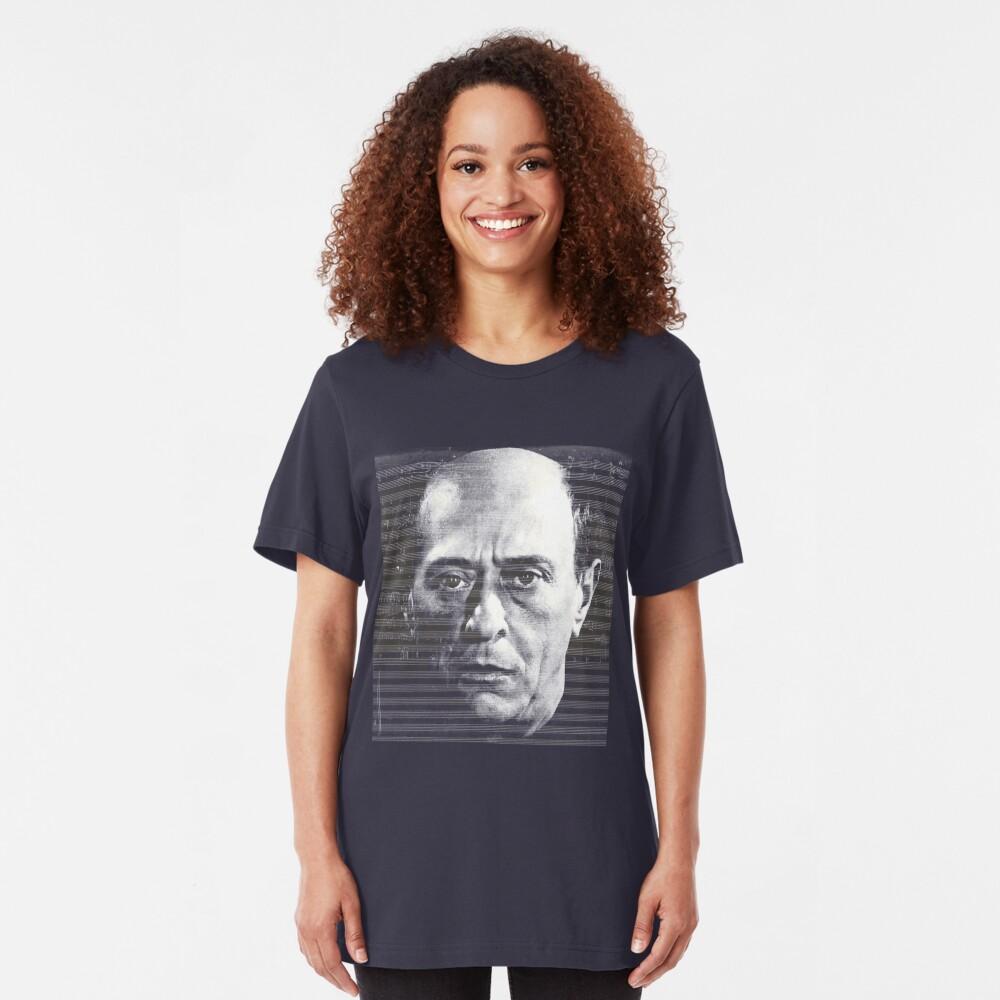 Arnold Schoenberg, great composer Slim Fit T-Shirt