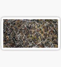 Jackson Pollock. Alchemy  Sticker