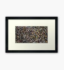 Jackson Pollock. Alchemy  Framed Print