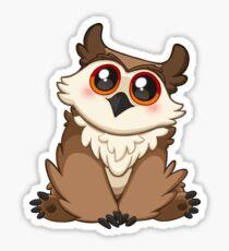 Adorable Owlbear - Cute D&D Adventures Sticker