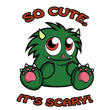 Cute Monster(Green) by KittyMelodies
