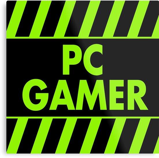 Warning Pc Gamer (green) by xtrolix