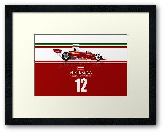 Niki Lauda - 1975 312T by JageOwen