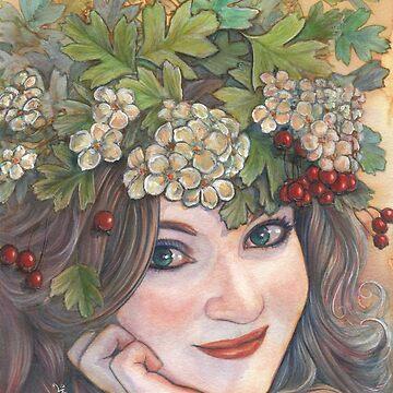 The Hawthorn Queen. by katemccredie
