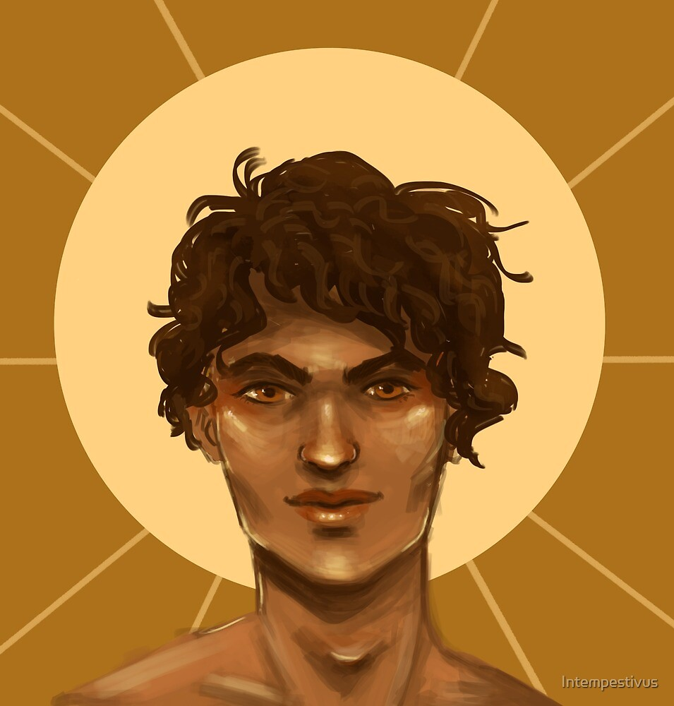 Apollo with Sun Behind by Intempestivus