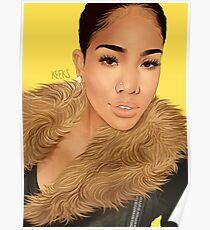Commission Portrait Poster