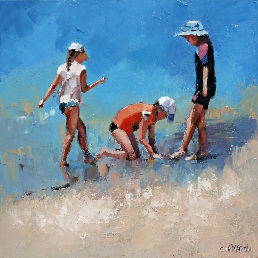Summer Days VI by Claire McCall