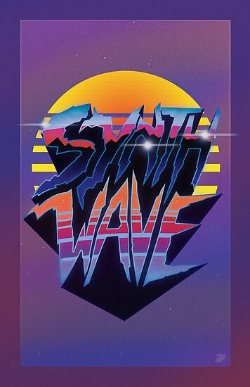 """Synthwave"" Outrun Style Poster by Jamieferrato19"