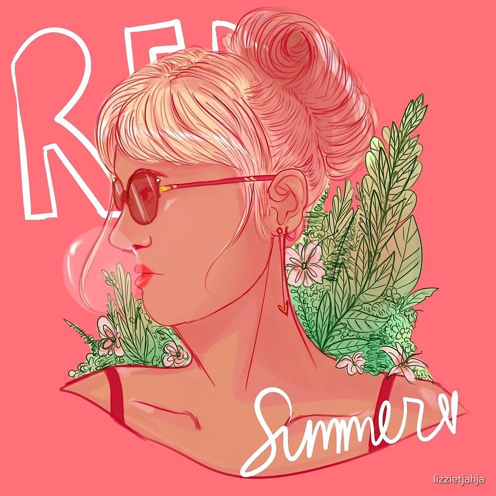 Red Summer  by lizzietjahja