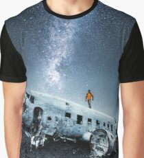 airplane wreck in iceland Graphic T-Shirt