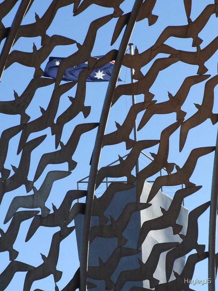 The Dome of Gulls, HMAS Sydney Memorial. by HayleyJS