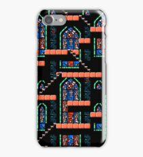 Castlevania III - Window Panes iPhone Case/Skin