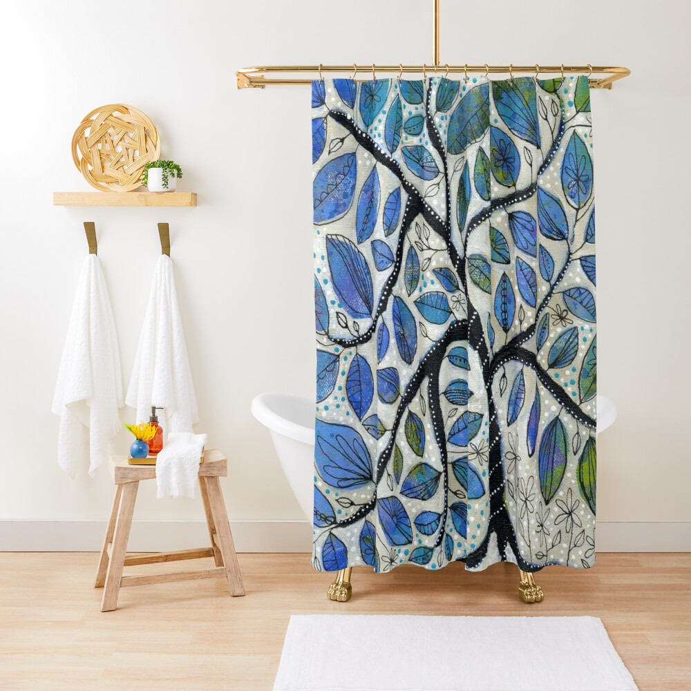 Why We Hope Shower Curtain