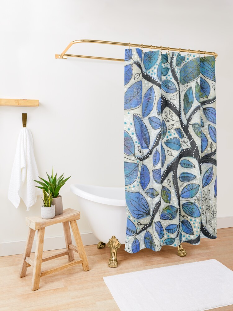 Alternate view of Why We Hope Shower Curtain