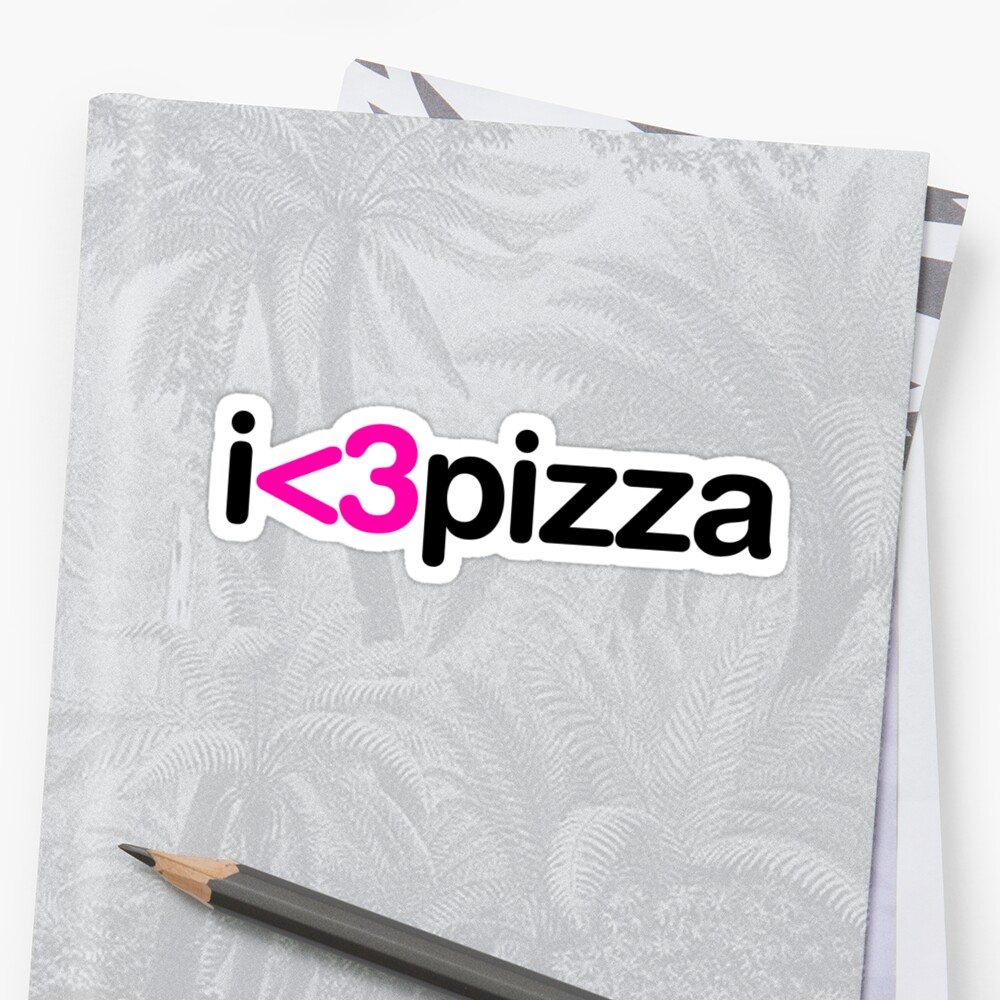 I heart pizza by arch0wl