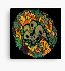 Skull And Scale Canvas Print