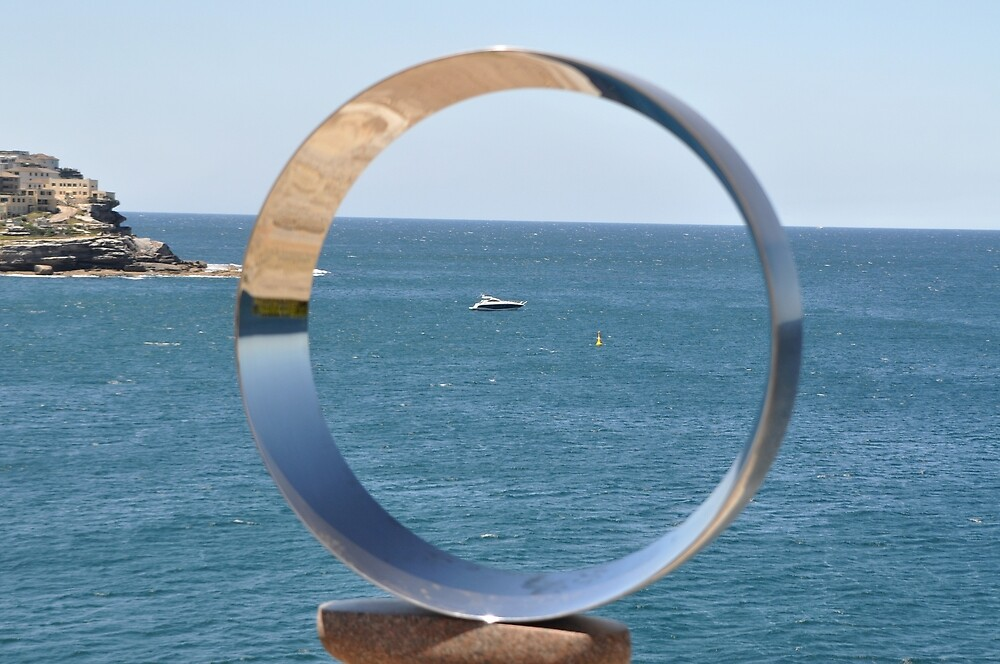 Sculptures By Sea,Australia - Boat In Circle 2016 by muz2142