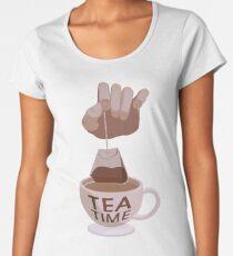 Tea Time  Women's Premium T-Shirt