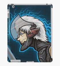 Metal Gear Solid Raiden Cyborg Ninja Poster iPad Case/Skin