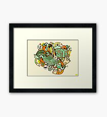 Country Club Nouveau Framed Print