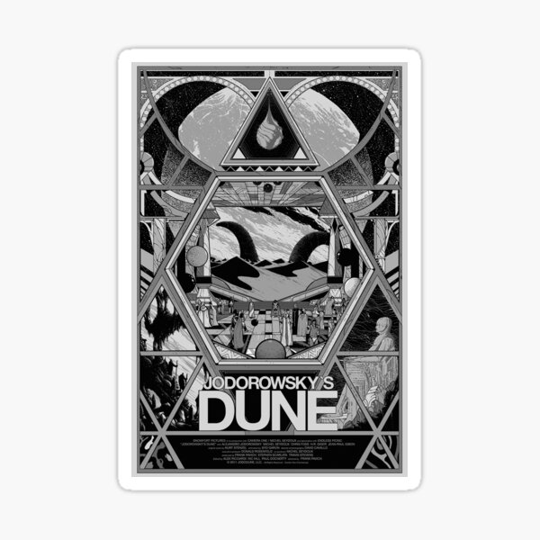 Jodorowsky's Dune Sticker