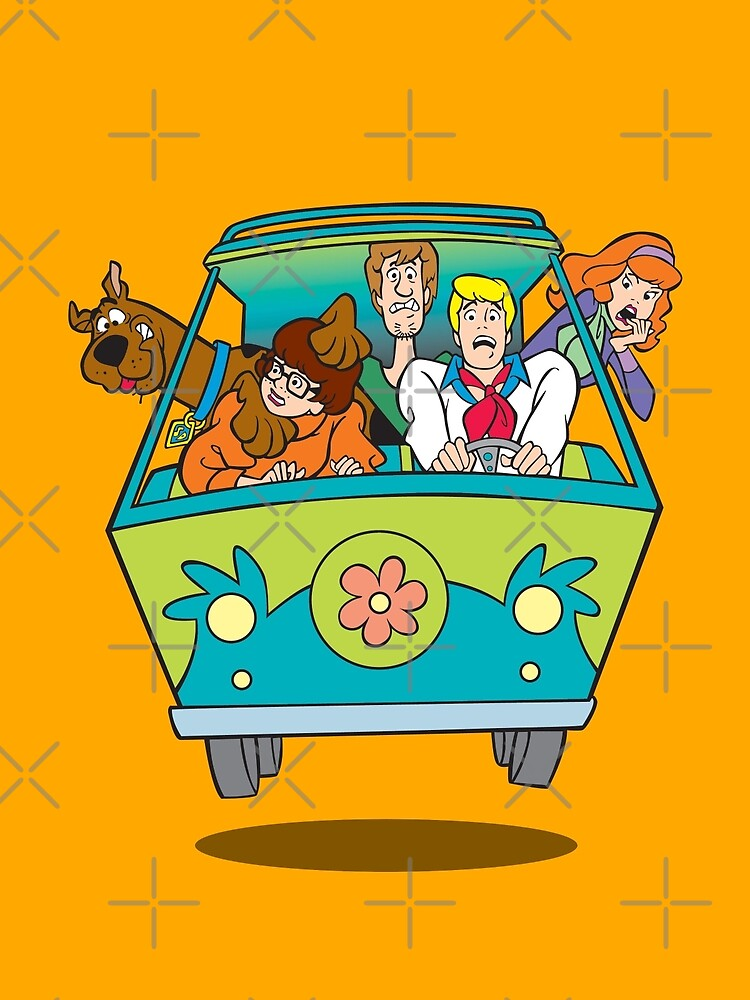 scooby doo by easyeye