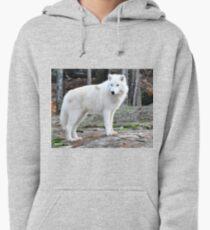 Arctic Wolf - Québèc, Canada Pullover Hoodie