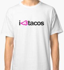 I heart tacos Classic T-Shirt