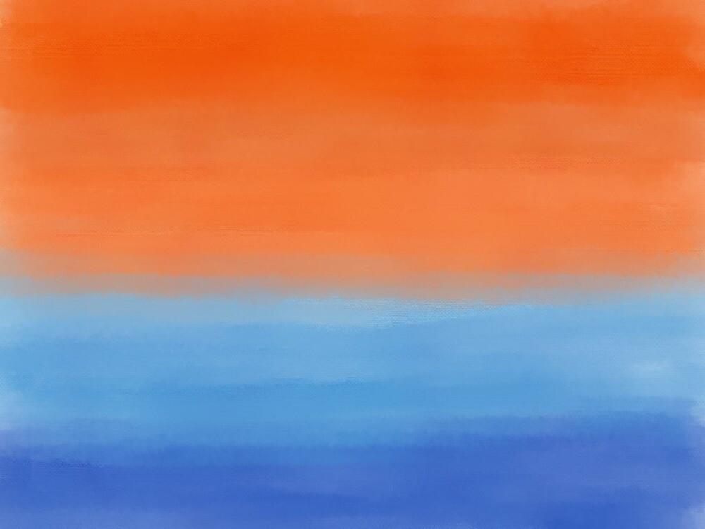 Orange & Blue by Knai-Locus
