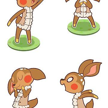 deer girls by odzi