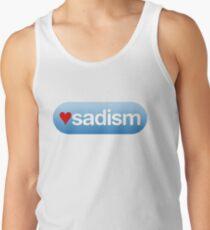I heart sadism Tank Top