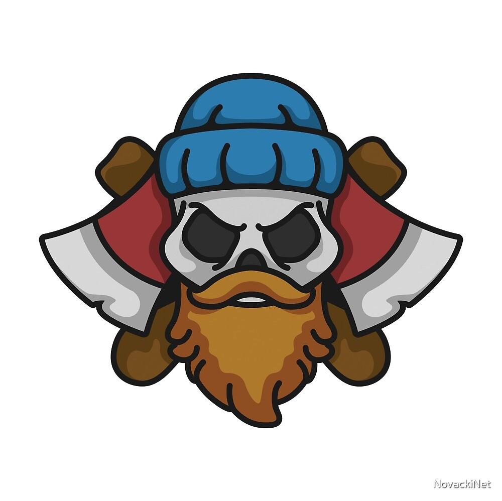 Lumberjack Skull by NovackiNet
