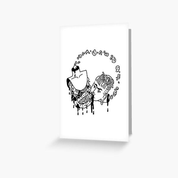 Vicious (Cannibal) Cycle Greeting Card